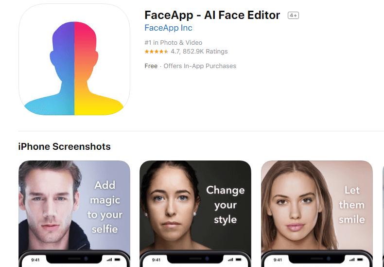 FaceApp: ¿el freepass de los rusos a tu privacidad?